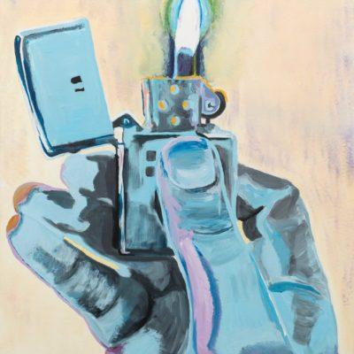 """Lighter"", 80 cm x 100 cm, Acryl auf LW, 899 €"